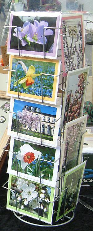 Grußkarten auf dem Bonner Frühlingsmarkt