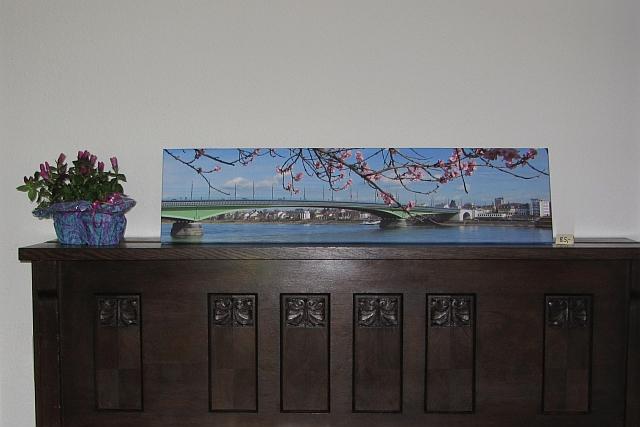 Leinwanddruck Kennedybrücke Bonn